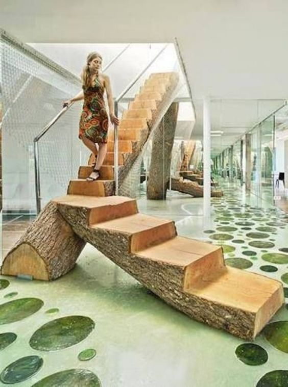 Escadas de madeira residenciais internas modelos fotoss for Fotos de escaleras rusticas