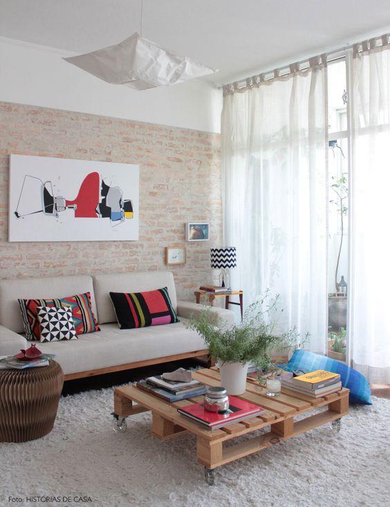 Ideias de decora o de salas simples e baratas fotoss decor for Alfombras para sala pequena