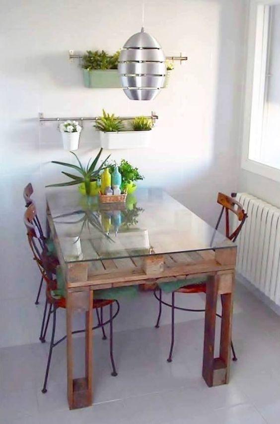 Ideias de decora o de salas simples e baratas fotoss decor for Mesas de comedor pequenas baratas