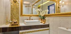 Como Usar Faixas Decorativas no Banheiro