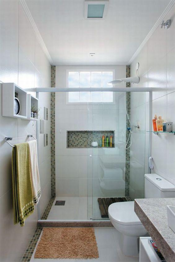 banheiro com pastilha