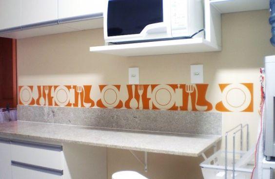 Decoração de Cozinhas com Adesivos de Azulejos