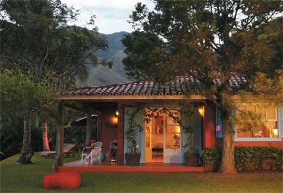 Decora O De Casas De Campo Pequenas E Simples Fotos
