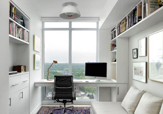 Decoração de Home Office no Quarto