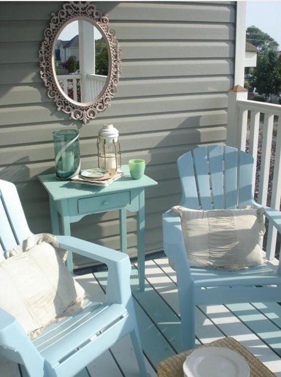 25 terra os de casas simples e modernass decor - Peinture pour meuble de jardin en plastique ...