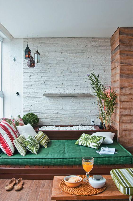 Terraços de Casas Simples e Modernas