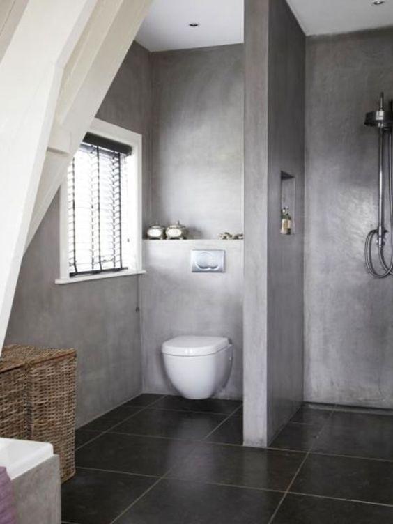 Epoxy Grout For Bathrooms: Decoração De Banheiros Simples E Bonitos: 20 FotosSó Decor
