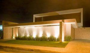 Fachadas de Casas Simples com Cerâmica