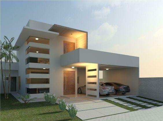 Fachadas de casas simples com cer mica modelos fotoss decor - Ceramica para fachadas casas ...