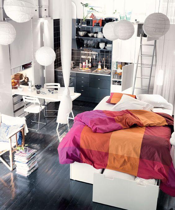 15 ideias de decora o simples e barata para kitnet - Categoria a3 casa ...