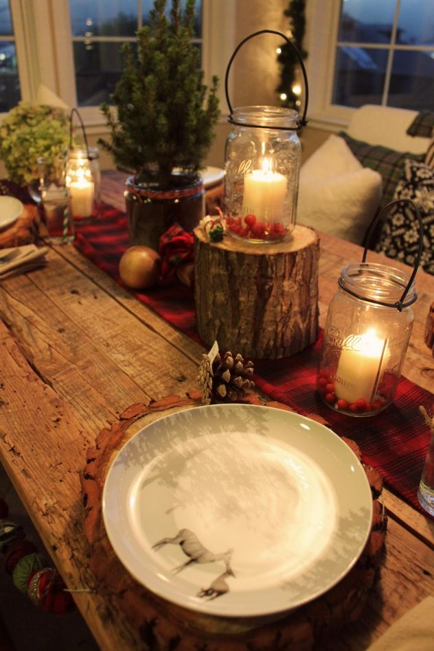 Dicas de Decoração Rústica para Mesa de Natal
