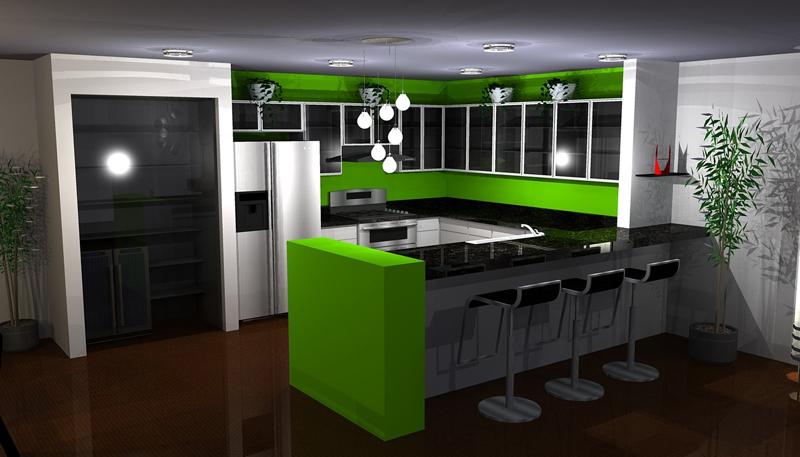 Cozinhas Verdes