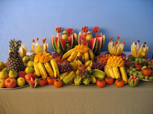 Decoraç u00e3o de Mesa de Frutas para Natal 25 Fotos Inspiradoras! -> Decoração Mesa De Frutas Natal Simples