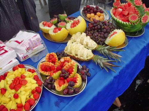 Decora o de mesa de frutas para natal 25 fotos - Adornos de frutas para mesas ...