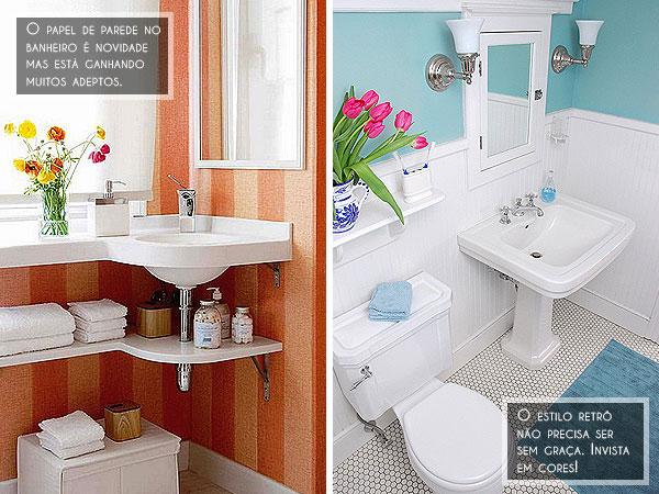 decoração de banheiro social pequeno ideias