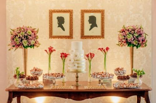 decoração de noivado simples e barato 13
