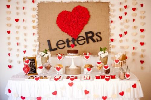 decoração de noivado simples e barato 8