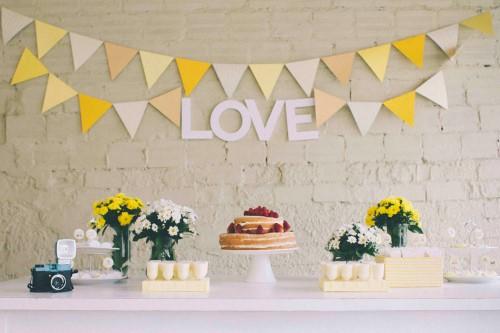 ideias decoração de noivado simples e baratas de fazer