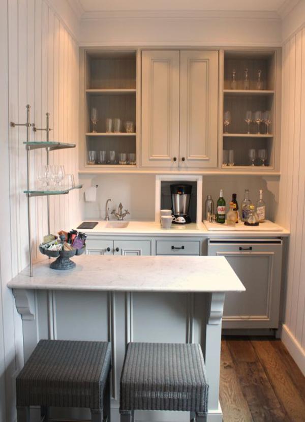 cozinha integrada comprida
