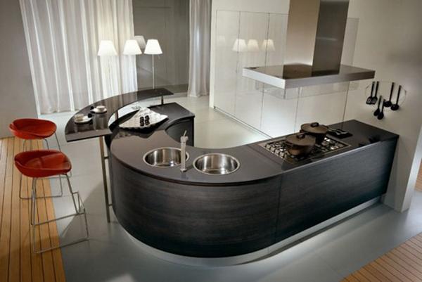 cozinha integrada moderníssima