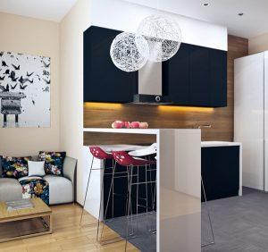 cozinha integrada diferente