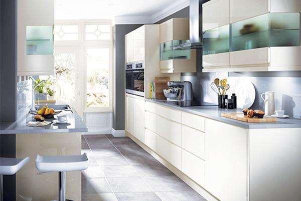 cozinha integrada longa