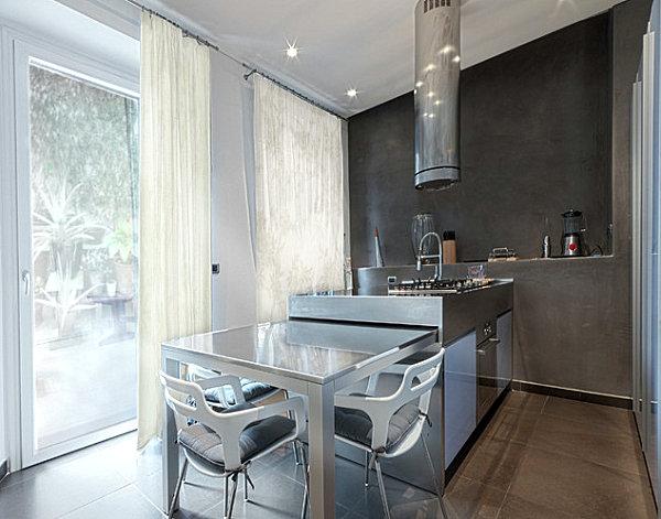 cozinha integrada clássica