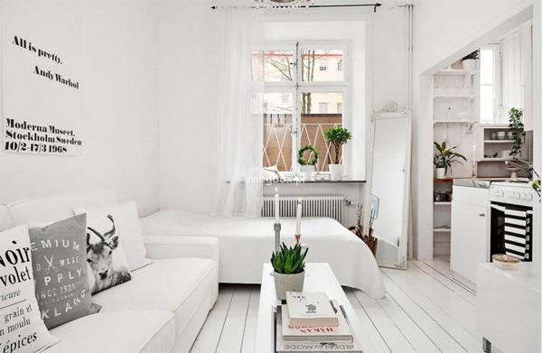 cozinha integrada clean