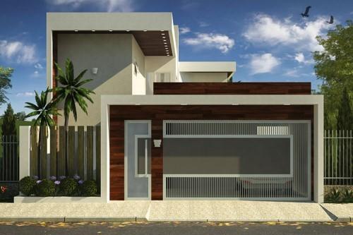 Fotos de portões residenciais modernos modelos