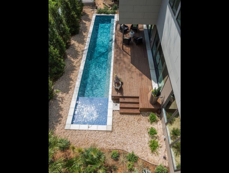 piscina comprida