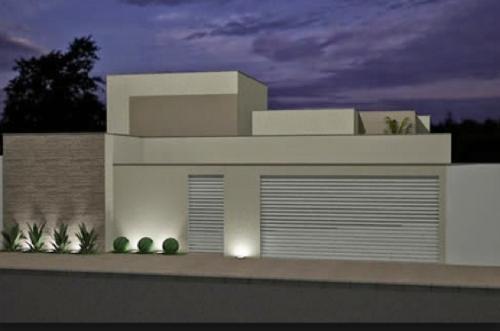 portões residenciais modernos modelos ideias