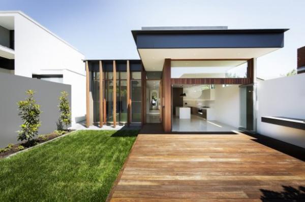 fachada de casa bonita