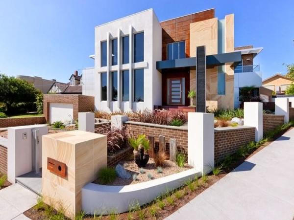 fachada de casa diferente