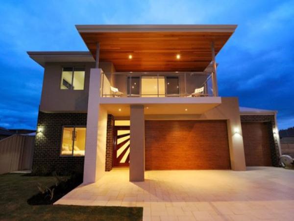 fachada de casa com cobertura