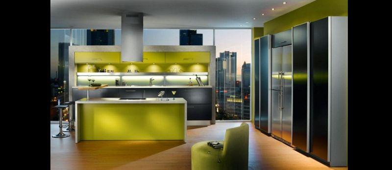 luz na cozinha planejada