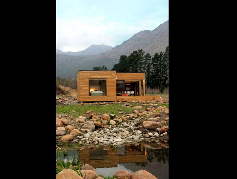 lago na casa de campo
