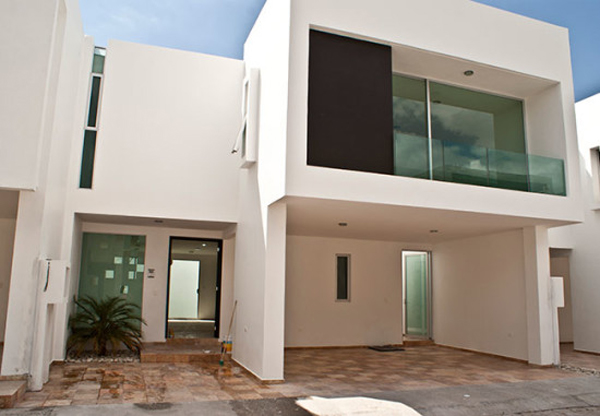 fachada de casa básica
