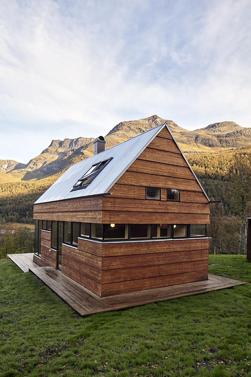 minimalismo na casa de campo