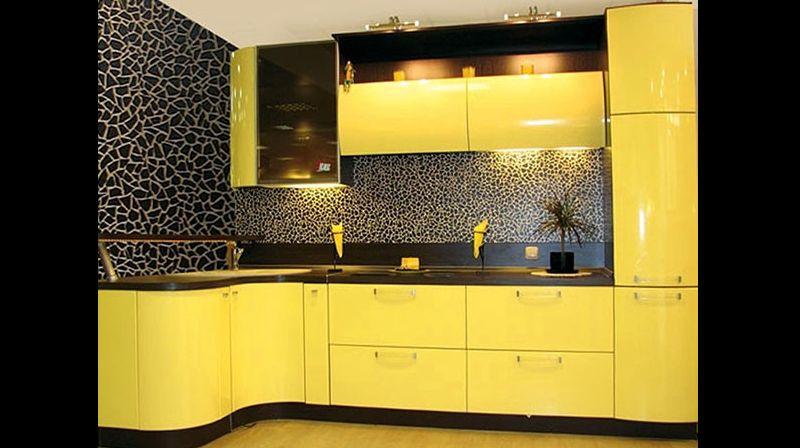 mosaico na cozinha planejada