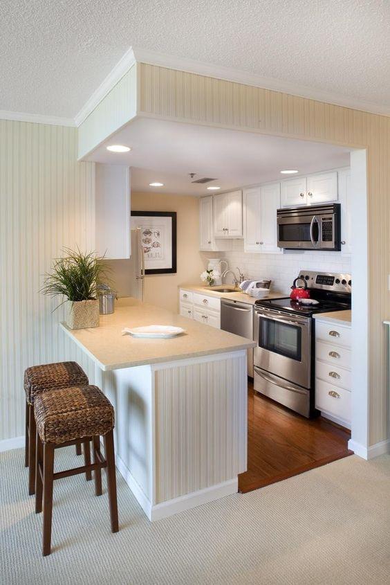 cozinha com ilha funcional
