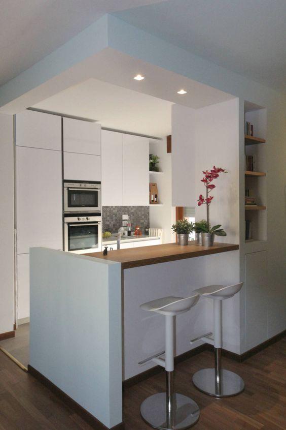 cozinha com decor simples