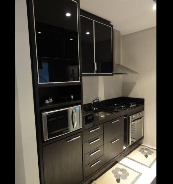 cozinha com preto