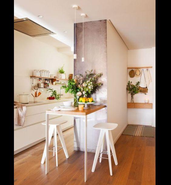 cozinha com repartição