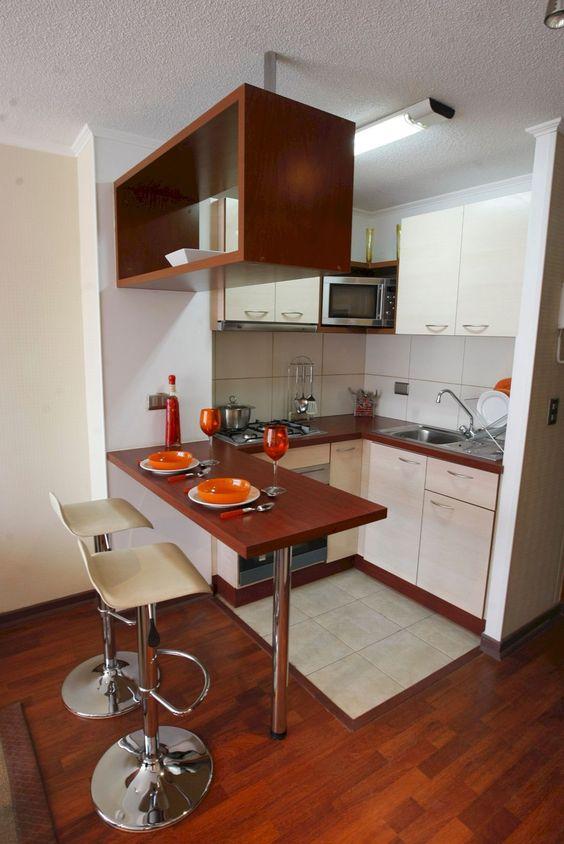 cozinha com metal