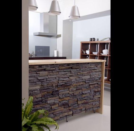 cozinha com pedras