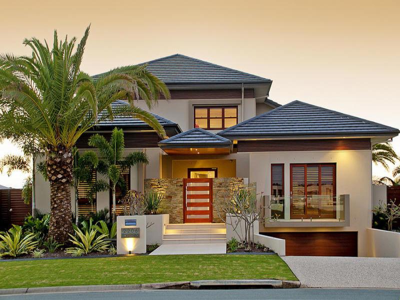 casa linda com coqueiro