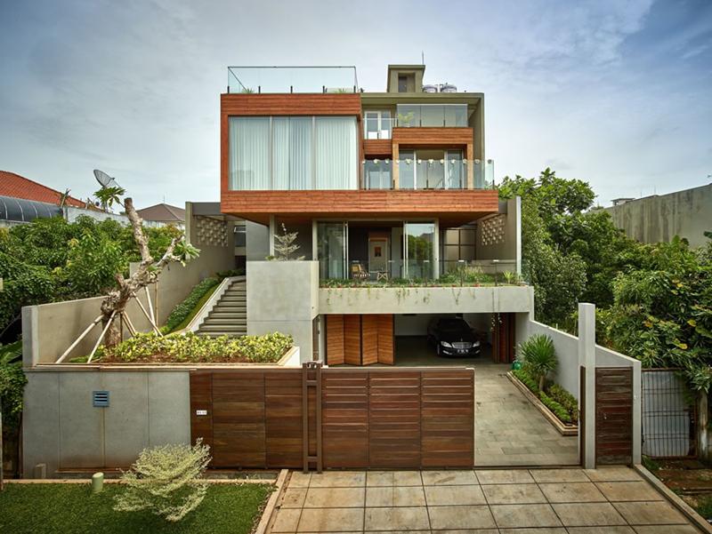 casa linda com madeira