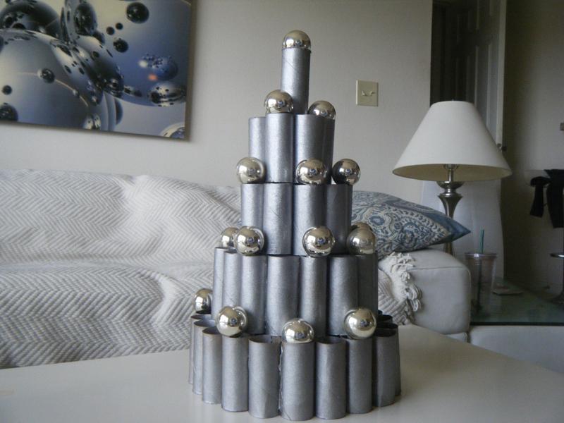 rolos de papel higienico no natal
