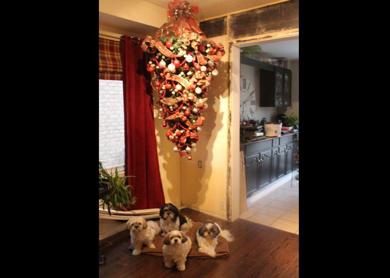 decoração natalina diferente
