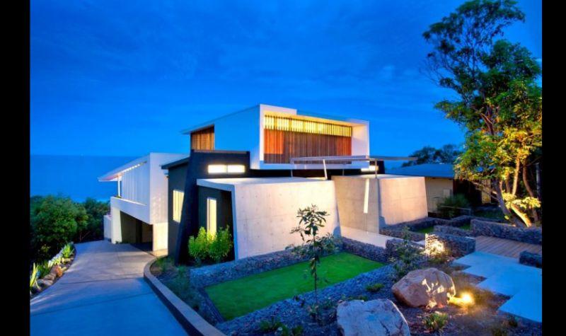 casa linda futurista